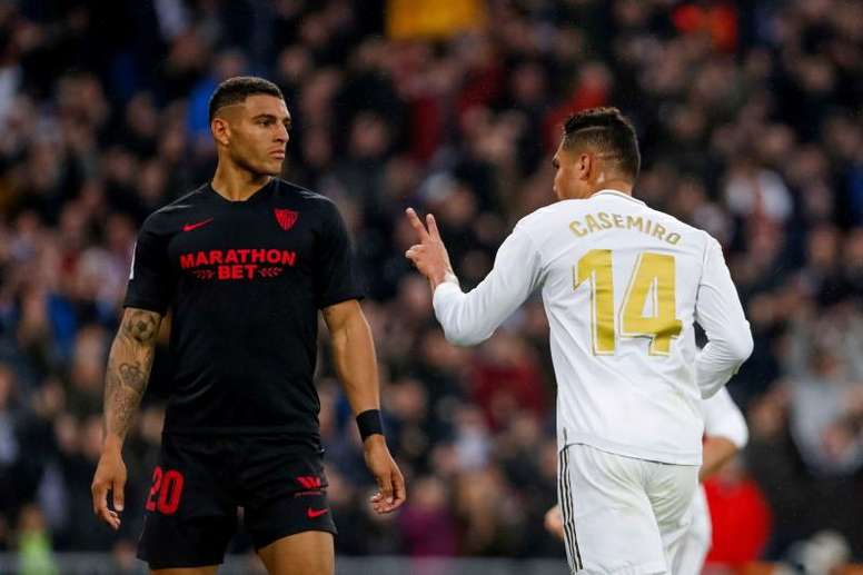 Diego Carlos veut rester à Séville. EFE