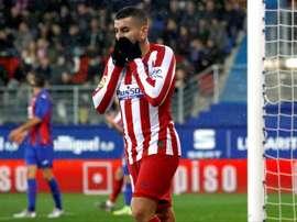 L'Atlético surpris par Eibar ! EFE/ Javier Etxezarreta