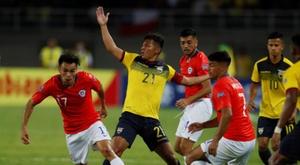 Chile arrolla en el estreno a un Ecuador mermado. EFE