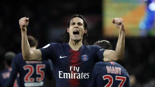 Cavani's signing, about to drop. EFE