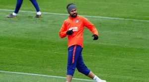 Diego Costa is back in training after injury. EFE/Archivo