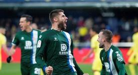 David López, de nuevo decisivo para el Espanyol. EFE