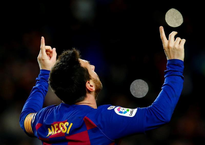 Messi respecte la tradition. EFE