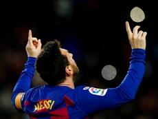 Messi, el Betis y el Mallorca acaparan las miradas. EFE/Enric Fontcuberta