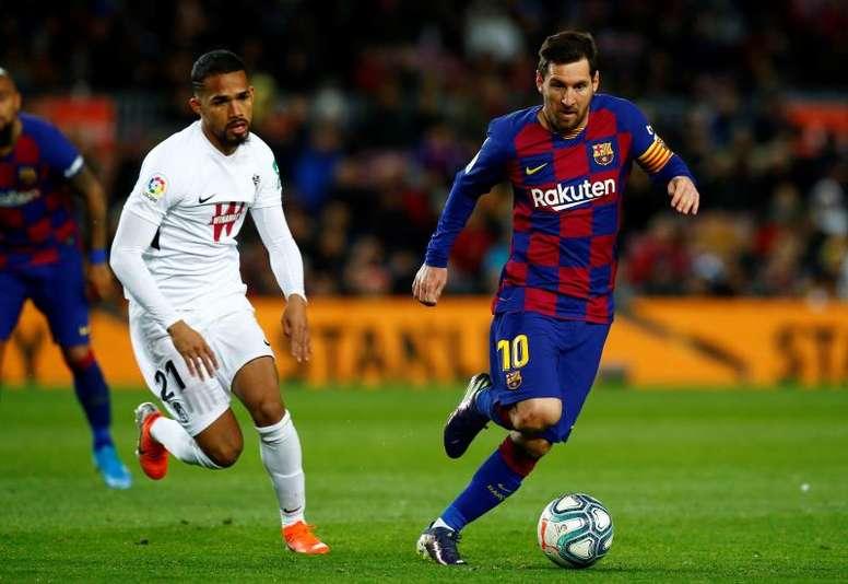 Les compos probables du match de Liga entre Grenade et le FC Barcelone. EFE