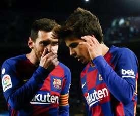 Riqui Puig played very well in the short time he was on the field. EFE