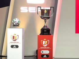 A Basque derby in the Copa del Rey final is still possible. EFE