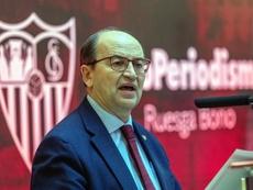 Pepe Castro defendió a Monchi. EFE