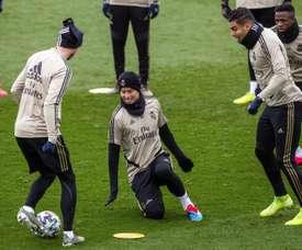 Real Madrid publicou a lista para a partida da Copa del Rey diante do Unionistas. EFE