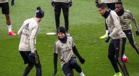 Bale no estará ante el Valladolid. EFE