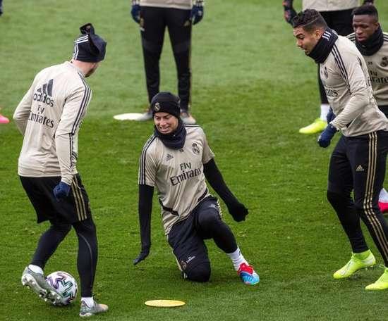 Real Madrid face Unionistas. EFE