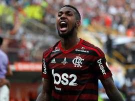 Gerson, de 22 anos, chegou da Roma ao Flamengo por R$ 49,7 milhões. EFE/ANTONIO LACERDA/Arquivo