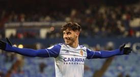 El Zaragoza se impuso al Mallorca. EFE