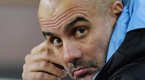 Guardiola recuperó a su jugador a pocos días de visitar Madrid. EFE/EPA