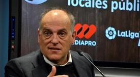 Tebas utilizó a Casillas para criticar a Rubiales. EFE