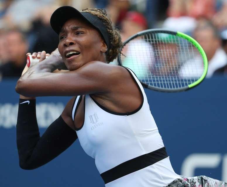 La tenista estadounidense Venus Williams. EFE/EPA/JASON SZENES/Archivo
