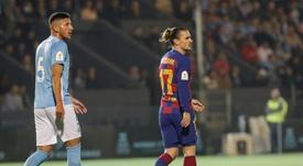 Le Barça se qualifie difficilement à Ibiza grâce à Griezmann. EFE