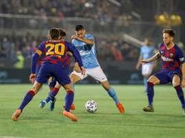 El Barça monopolizó el balón... sin ocasiones. EFE