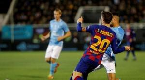 Sergi Roberto lesionado. EFE/ Sergio G. Cañizares