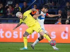 El Alavés, con el recuerdo de la última victoria al Villarreal. EFE