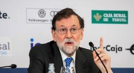 Rajoy, posible candidato a dirigir la RFEF. EFE