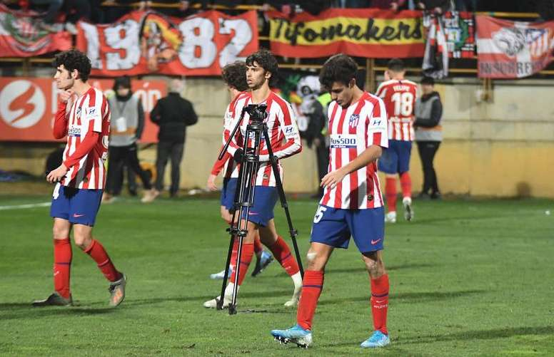 Gil Marín sacó la cara por el Atlético tras las críticas. EFE