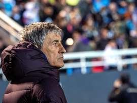 Rivaldo criticou o desempenho azulgrana. EFE