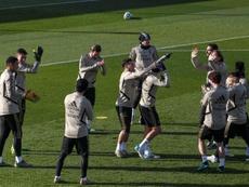Sergio Ramos ya está a tope de nuevo. EFE