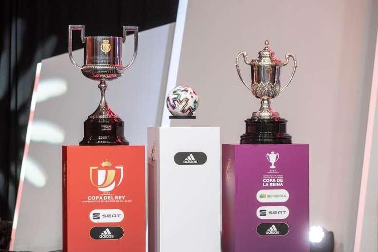 Siete aspirantes y una 'cenicienta': así será el sorteo de cuartos de Copa. EFE/Rodrigo Jiménez