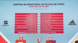 Real Madrid and Leganes have got kind draws in the last 16 of the Copa del Rey 2019-20. EFE