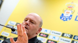 Pepe Mel habló del arbitraje. EFE