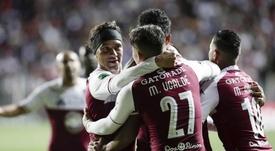 Saprissa sigue líder una jornada más. EFE/Jeffrey Arguedas/Archivo
