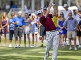 Ryan Palmer, golfista estadounidense. EFE/Tannen Maury/Archivo