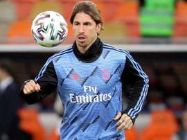 Sergio Ramos received terrible comments from the stands at Osasuna. EFE