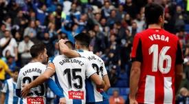 David López no jugará ante el Atlético. EFE