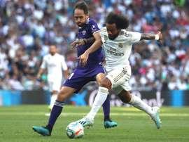 Once confirmado del Real Madrid-Real Sociedad. EFE