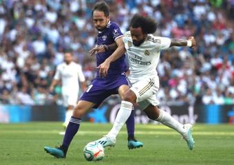 Marcelo, otra baja para Carlo Ancelotti. EFE