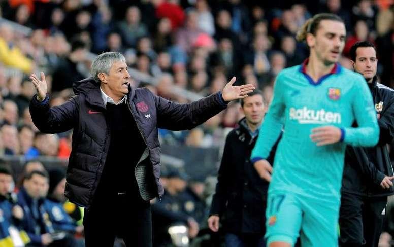 Los males endémicos del Barça. EFE/Juan Carlos Cárdenas