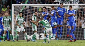 Canales, vital en el Betis. EFE