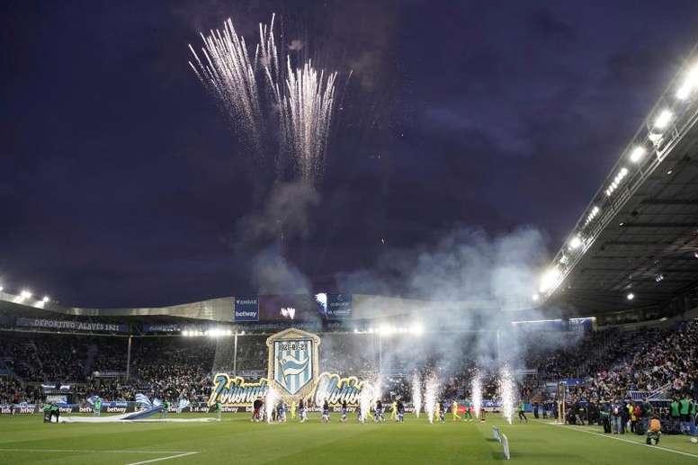 El estadio fue una fiesta. EFE