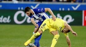 El Alavés cayó en casa ante el Villarreal. EFE