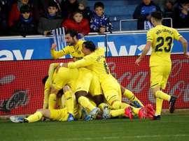 Desde o início de 2018, o Villarreal não tinha sequência de três vitórias. EFE/Adrián Ruiz Hierro