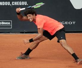 Imagen de archivo del tenista brasileño João Souza. EFE/Sebastião Moreira