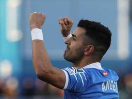Acordo entre Ángel e Barcelona estaria fechado. EFE/Kiko Huesca