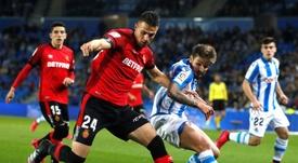 Portu cree que la Real Sociedad puede llegar lejos en la Copa. EFE