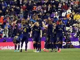 compos probables du match de Coupe du Roi entre le Real Madrid et Zaragosse. EFE / R. García.