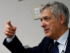 Villar recordó las figuras de Blatter y Platini.  EFE