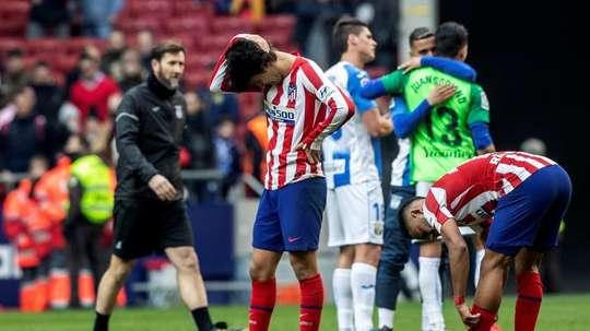 Les options de Simeone pour remplacer Joao Félix. EFE