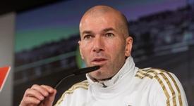 Zidane habló sobre la eliminatoria de octavos de Copa del Rey. EFE