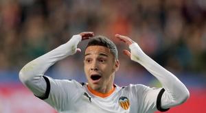 O Barça desiste de Rodrigo. EFE/ Kai Forsterling/Archivo